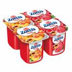 ZOTT ZOTTIS LOW FAT FRUIT YOGH ASSORTED (RASPBERRY; PEACH; STRAWBERRY; PINEAPPLE)